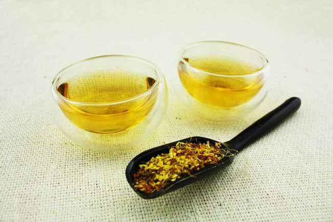 桂花茶的家庭制作方法,家庭怎么做桂花茶